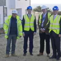 Deputy Prime Minister visits Porthleven housing development
